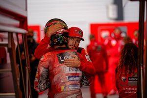 Jack Miller e Francesco Bagnaia, Ducati Team