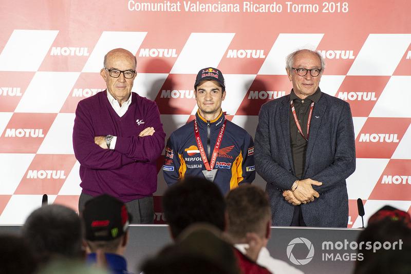 Ezpeletta, Dani Pedrosa, Repsol Honda Team, Vito Ippolito, FIM President