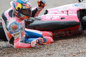 Chute de Jack Miller, Pramac Racing