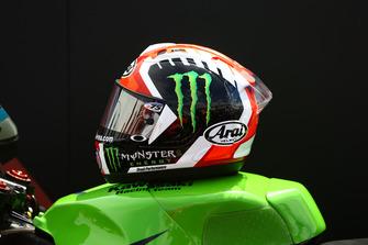 Le casque de Jonathan Rea, Kawasaki Racing