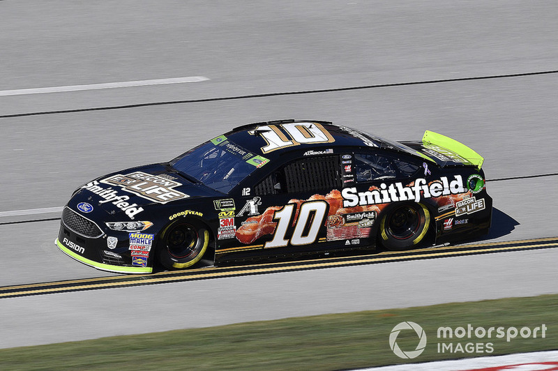 4. Aric Almirola, Stewart-Haas Racing, Ford Fusion Smithfield Bacon for Life