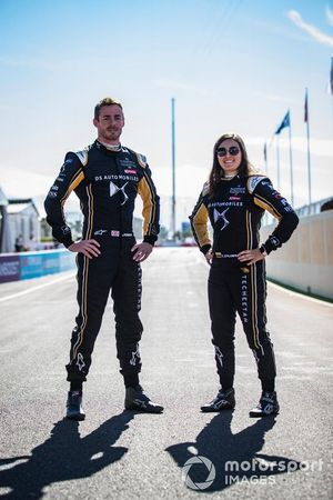 James Rossiter, DS TECHEETAH, DS E-Tense FE19 , Tatiana Calderon, DS TECHEETAH, DS E-Tense FE19