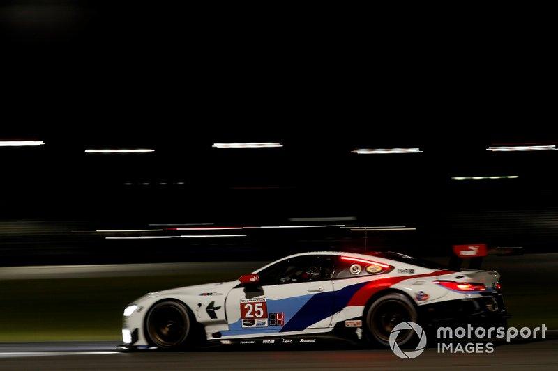 BMW M8 GTE #25 beim Daytona-Test