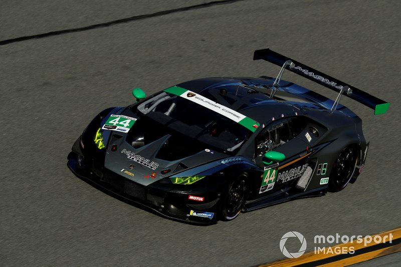 #44 Magnus Racing Lamborghini Huracan: John Potter, Andy Lally, Spencer Pumpelly, Marco Mapelli