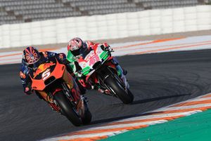 Johann Zarco, Red Bull KTM Factory Racing, Aleix Espargaro, Aprilia Racing Team Gresini