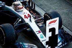 Winner car of Lewis Hamilton, Mercedes AMG F1