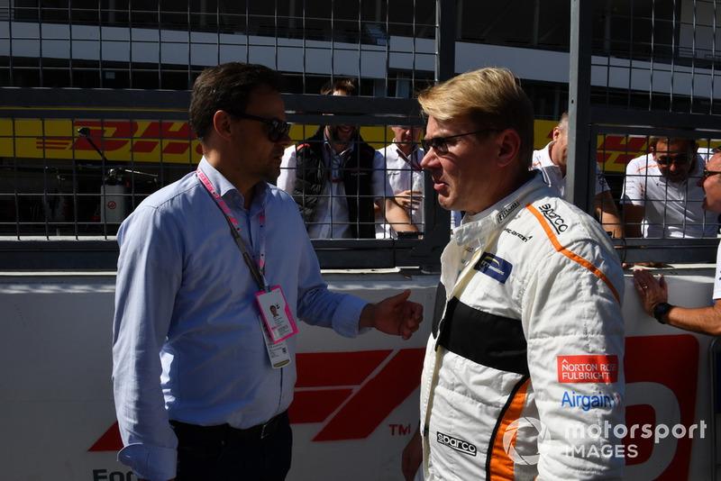 Mika Hakkinen Leyendas F1 30 aniversario