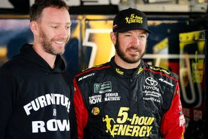 Martin Truex Jr., Furniture Row Racing, Toyota Camry 5-hour ENERGY/Bass Pro Shops and crew chief Cole Pearn