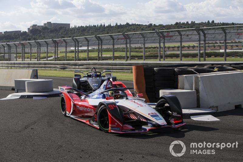 Pascal Wehrlein, Mahindra Racing, M5 Electro, Jose Maria Lopez, Dragon Racing