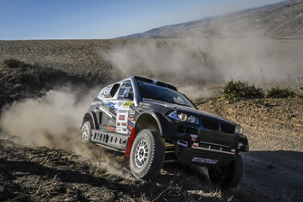 #318 MSK Rally Team BMW X3: Denis Krotov, Dmytro Tsyro