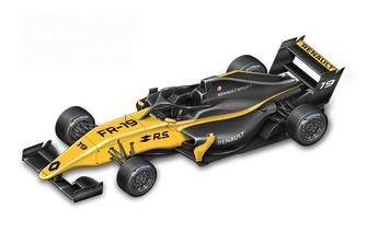 La monoplace de Formula Renault Eurocup 2019