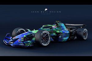 Дизайн машины Ф1 2021 года от Шона Булла