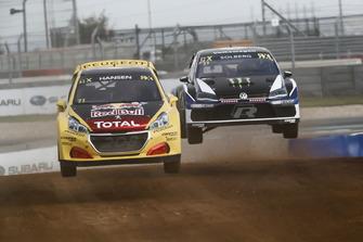 Kevin Hansen, Team Peugeot Total, Petter Solberg, PSRX Volkswagen Sweden