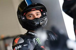 Lewis Hamilton is testing the Yamaha Superbike