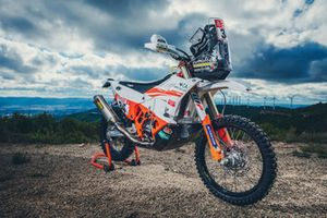 Bike of KTM Racing Team