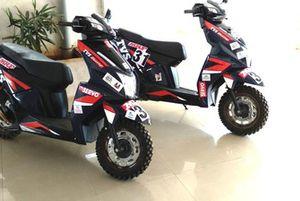 TVS NTORQ SXR scooters