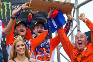 Jeffrey Herlings y Glenn Coldenhoff, Team Nederland, Red Bull KTM Factory Racing