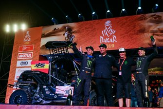 Podio: Monster Energy Can-Am: Gerard Farres Guell, Daniel Oliveras Carreras