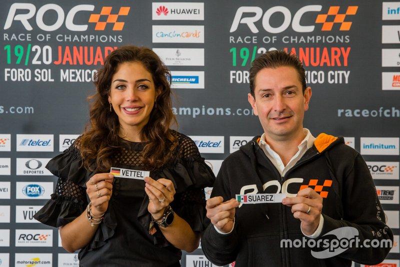 Sorteo Race of Champions