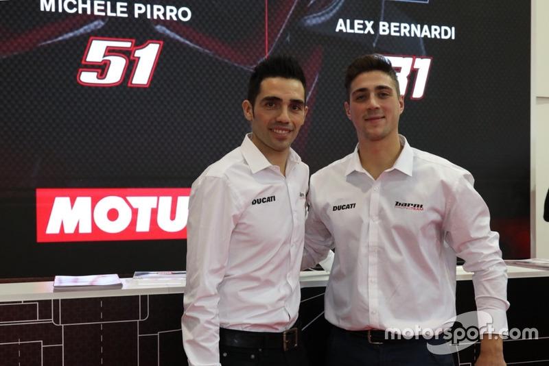 Michele Pirro e Alex Bernardi, Barni Racing Team