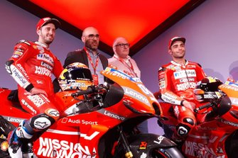 Andrea Dovizioso e Danilo Petrucci, Ducati Team