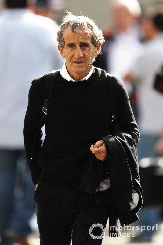 Four time F1 world Champion Alain Prost