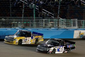 Derek Kraus, Bill McAnally Racing, Toyota Tundra NAPA Auto Parts, Christian Eckes, Kyle Busch Motorsports, Toyota Tundra Mobil 1