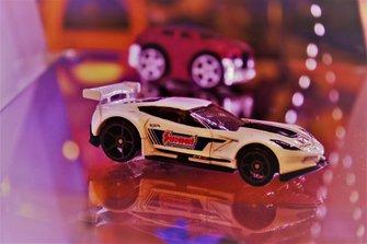 Diecast Chevrolet Corvette C7.R Hot Wheels