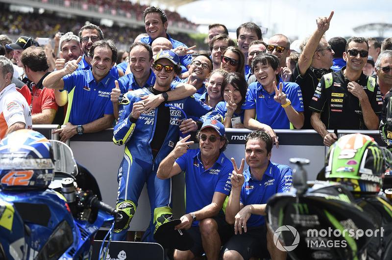 Друге місце Алекс Рінс, Team Suzuki MotoGP