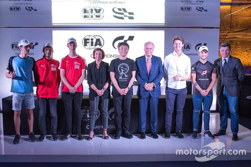 Presentación de las Finales Europeas FIA de Gran Turismo Sport