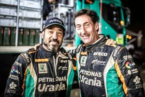 ##505 Team De Rooy Iveco: Federico Villagra, Ricardo Torlaschi