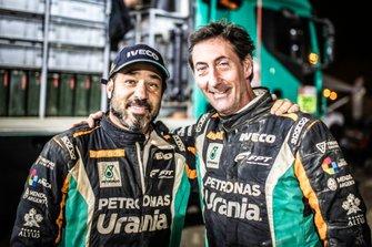 Федерико Вильягра и Рикардо Торлаши, Petronas Team de Rooy Iveco
