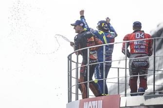 أندريا دوفيزيوزو، فريق دوكاتي وأليكس إسبارغارو، أبريليا ريسينغ وبول إسبارغارو، ريد بُل كاي تي ام