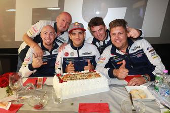 Le gâteau d'anniversaire de Jorge Martin, Del Conca Gresini Racing