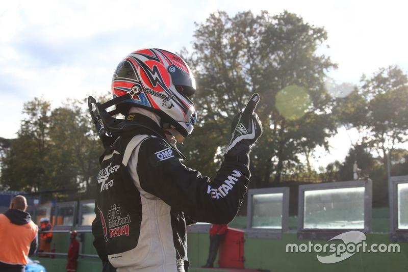 Lamborghini Huracan Super Trofeo Evo #5, Antonelli Motorsport: Giacomo Altoe