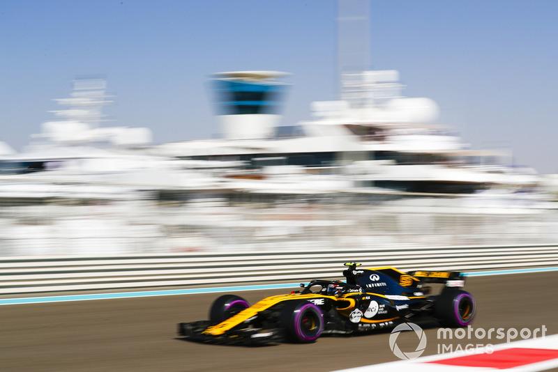 12. Carlos Sainz Jr., Renault Sport F1 Team R.S. 18