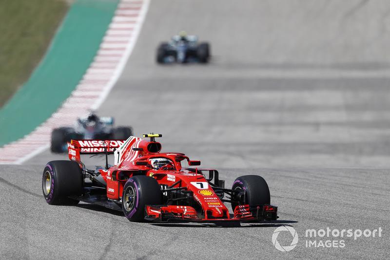 2018 - Estados Unidos, Kimi Raikkonen vence com a Ferrari