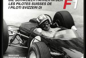 Les pilotes suisses de F1, page de couverture, premier livre