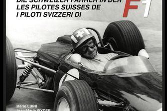 Die Schweizer Fahrer in der F1, titelseite, erstes buch