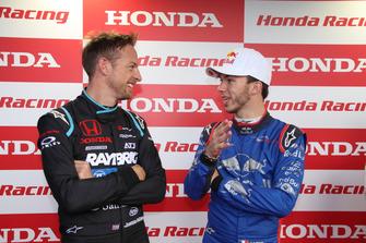 ジェンソン・バトン、ピエール・ガスリー(Honda Racing THANKS DAY 2018)
