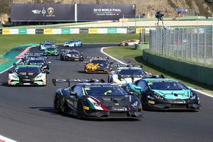#96 Automobile Tricolore: Raffaele Giannoni, #11 Konrad Motorsport: Carrie Schreiner, Christopher Bruck