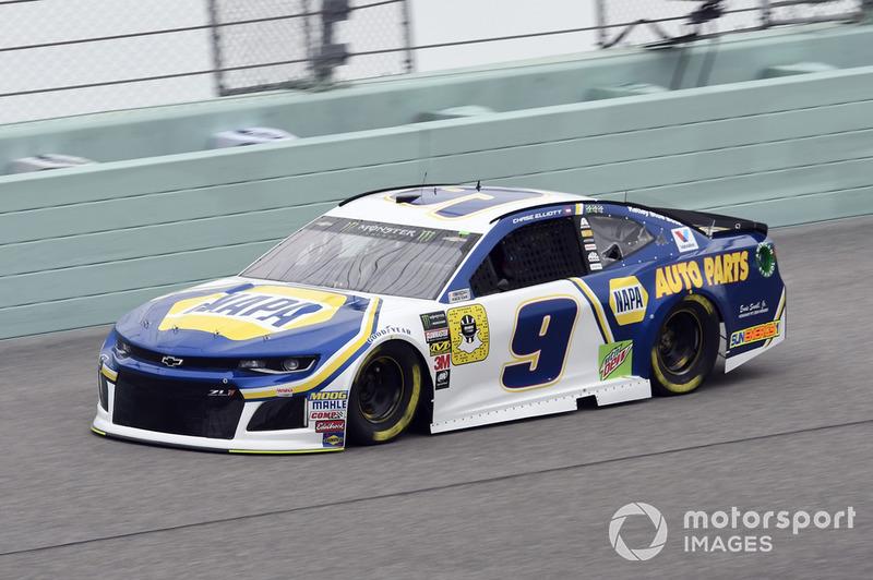 14. Chase Elliott, Hendrick Motorsports, Chevrolet Camaro NAPA Auto Parts