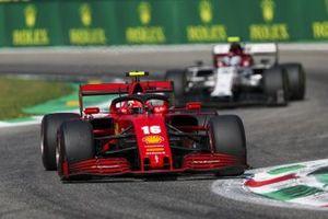 Charles Leclerc, Ferrari SF1000, Antonio Giovinazzi, Alfa Romeo Racing C39