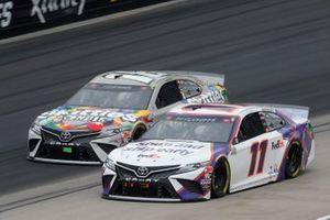 Denny Hamlin, Joe Gibbs Racing, Toyota Camry FedEx Shipathon Kyle Busch, Joe Gibbs Racing, Toyota Camry Skittles Zombie