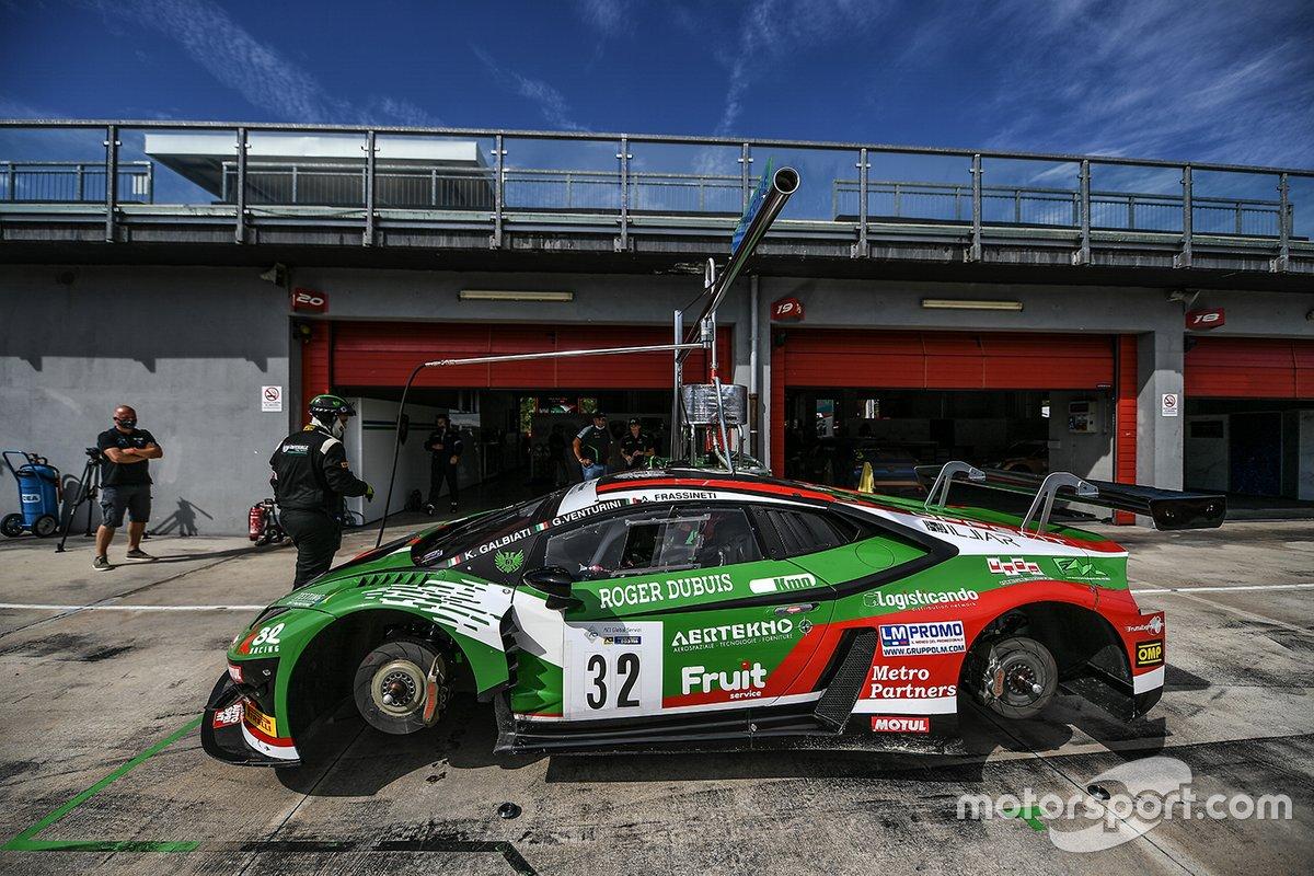La Lamborghini Huracan nel GT Italiano dell'Imperiale Racing