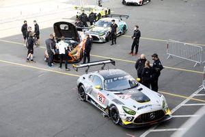 #22 10Q Racing Team Hauer & Zabel Mercedes-AMG GT3: Kenneth Heyer, Sebastian Asch, Thomas Jäger, Daniel Juncadella