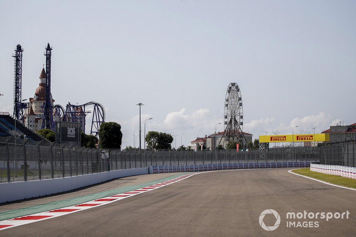 Detalle de la pista de Sochi