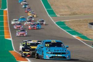 Santiago Urrutia, Cyan Performance Lynk & Co 03 TCR, Gilles Magnus, Comtoyou Racing Audi RS3 LMS