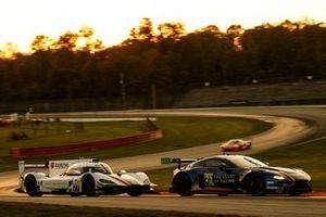 #77 Mazda Team Joest Mazda DPi, DPi: Oliver Jarvis, Tristan Nunez, #23 Heart Of Racing Team Aston Martin Vantage GT3, GTD: Roman De Angelis, Ian James