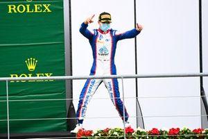 David Beckmann, Trident celebrates on the podium